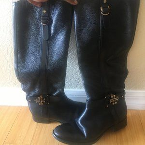 Tory Burch Leather Boots 9
